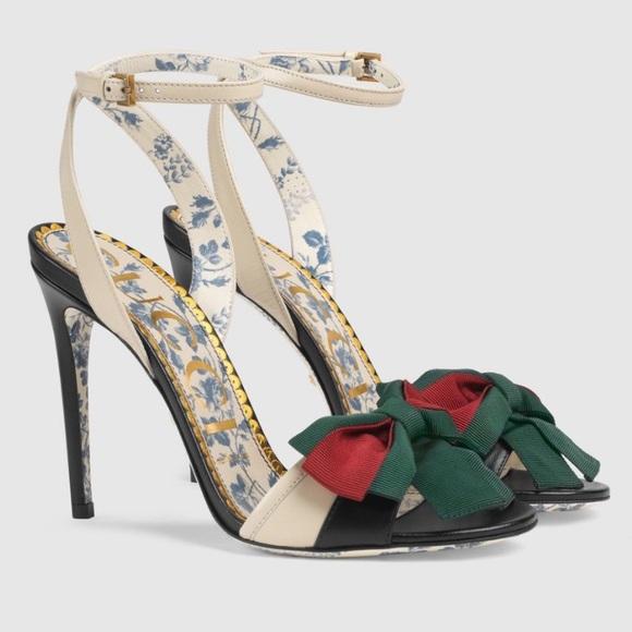 Gucci Shoes   Gucci Bow Heels   Poshmark